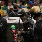 Slavnost vody - policie Bangkok